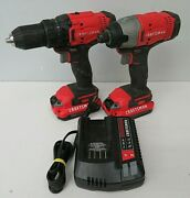 Craftsman Cmck200c2 Cmcf900 Cmcd700 Impact Driver And Drill Charger