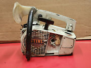 Stihl 020 Top Handle Vintage Collector Chainsaw Near Complete Strong Comp Ws 612