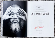 Ai Weiwei Signed + Silk Scarf - Sold Out Taschen Limited Edition - 852