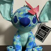 Stitch Crashes Plush Doll Disney Store Official 2021 The Little Mermaid Japan