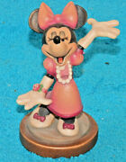 Vintage Anri Walt Disney Minnie Mouse Made In Italy