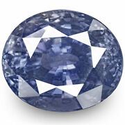 Gia Certified Sri Lanka Blue Sapphire 5.54 Cts Natural Untreated Oval