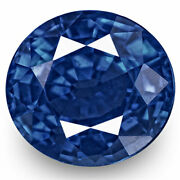 Grs Certified Sri Lanka Blue Sapphire 1.28 Cts Natural Untreated Oval