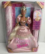 Rapunzel Barbie Doll Fairytale Classic Brothers Grimm Pink Gown 17646 New Crown