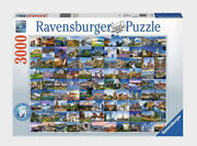 New Ravensburger - 99 Beautiful Places Of Europe - Jigsaw Puzzle 3000 Piece