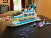 Lego Friends Dolphin Cruiser 41015 - 100 Complete - Hot Retired Set