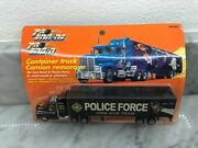 Vintage Pro-engine Police Force Join Our Team Container Truck