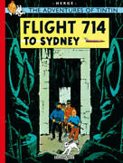 Flight 714 To Sydney The Adventures Of Tintin - Paperback By Herge - Good