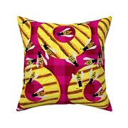 Fruit Pineapple Bbq Grill Throw Pillow Cover W Optional Insert By Roostery