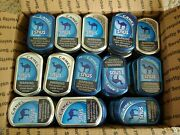 Lot Of 100 Camel Snus Tin Cans Crafts Storage Survival Backpacking Scrapbooking