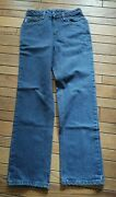 New Frb160 Womens Flame-resistant Relaxed Fit Denim Fr Jeans Size 6x32