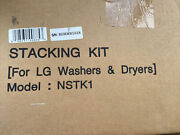 Blue Laundry Stacking Kit For Lg Front Loading Washer And Dryer Nstk1 New