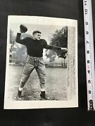 1950 Tom Lombardo West Point College Football Qb Beat Notre Dame Press Photo