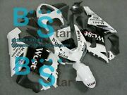 White Decals Injection Fairing Plastic Kit Fit Kawasaki Zx-6r 05-06 59 A6