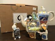 Very Rare Large Vintage Limited Edition Paul Cardew Fishmonger Market Stall