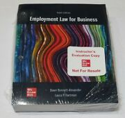 Loose Leaf For Employment Law For Business By Laura P. Hartman And Dawn 10th Ed