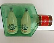 Old Spice Cologne And After Shave Lotion Ship In A Bottle Container Vintage Full