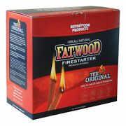 Better Wood Products Fatwood Pine Resin Stick Fire Starter 5 Lb. - Case Of 4