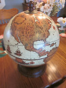 Zoffolii Globe Antique Finish Desk Top. Brand New With Tags.