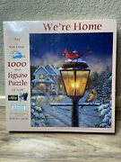 New Sunsout Jigsaw Puzzle Weandrsquore Home By Sam Timm Usa Made 23x28 1000 Piece