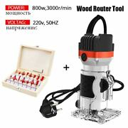 30000rpm Wood Router Tool Combo Kit Electric Woodworking Machines Power Carpent