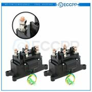 2andtimesnew Atv Winch Solenoid Relay Switch For Warn 2000 2500 3000 4000 Lb