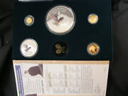 Olympic National Park Foundation Coins 1996 3 Gold Proof 2 Silver Proof
