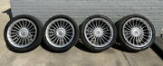20 B7 Style Set 4andnbsp Wheels Rims Alpina Fits Bmw 2016-2019 740 750 With Tires