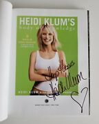 Heidi Klum's Body Of Knowledge Signed Autographed Book 1st Hardcover Supermodel