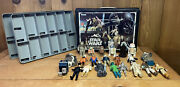 Kenner Star Wars Mini Action Figure Collectors Case With 22 Figures 1977-1984