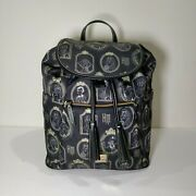 Disney Dooney And Bourke Haunted Mansion Portraits Backpack Nwt
