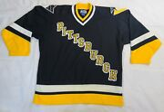 Vintage Starter Nhl Pittsburgh Penguin's Hockey Jersey , Size Xl, Preowned