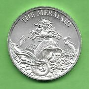 The Mermaid .999 Silver Round