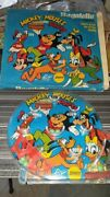 Old Vintage Plastic Micky Mouse Bagatelle Game With Box From India 1960