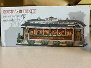 Department 56 Christmas In The City American Diner New In Box