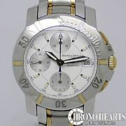 Baume And Mercier Capeland Diver Chrono Combination Used Watch Self-winding Good