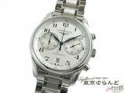 Longines Master Collection L2.629.4.78.6 New Watch Chronograph Menand039s Auto Ss