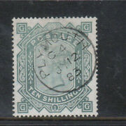 Great Britain 91 Very Fine Used Plate 1 With Ideal Plymouth July 12 1883 Cds