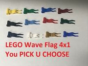 Lego Wave Flag 4x1 Castle Imperial Soldiers Knights Star Wars Pirates You Pick