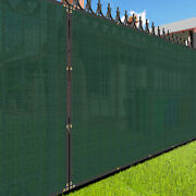 4ft Large Privacy Fence Windscreen Screen Mesh Hdpe Netting Fabric Outdoorgreen