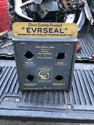 Stant Evrseal Radiator Gas Cap Counter Wall Display Cabinet