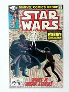 Star Wars Marvel 44 1981 Direct Duel A Dark Lord Comic Very Fine+