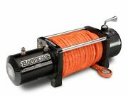 Barricade 9500lb Winch With Synthetic Rope Fits Jeep Gladiator Jt 2020