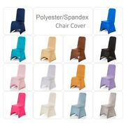 Spandex Dining Room Chair Covers Seat Slip Stretch Cover Removable Wedding Decor