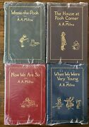 Easton Press Milne Winnie Pooh Leather Book Set 1985 Collectors New Sealed