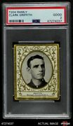 1909 T204 Ramly Clark Griffith Reds Psa 2 - Good