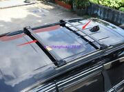 Stainless Roof Rack Cross Bar Luggage Carrier Bar For Jeep Grand Cherokee 14-21