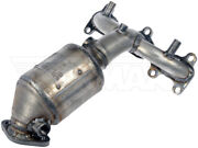 Exhaust Manifold With Integrated Catalytic Converter Fits 01 04 Hyundai Santa Fe