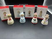 2013-2016 Hallmark Four Ornaments Complete Series Heavenly Belles A221