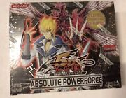 Yugioh Absolue Powerforce 1st Andeacutedition 24-count Booster Boandicircte Tcg Ccg Cartes
